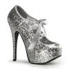TEEZE-10G Silver Glitter